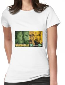 The walking bad Womens Fitted T-Shirt
