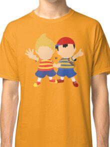 Ness & Lucas (Orange) - Super Smash Bros. Classic T-Shirt