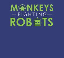 Monkeys Fighting Robots Original  Unisex T-Shirt