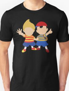 Ness & Lucas (Black) - Super Smash Bros. [Requested] Unisex T-Shirt