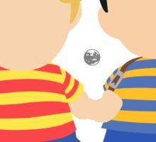 Ness & Lucas (Black) - Super Smash Bros. [Requested] Sticker