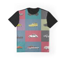Iconic Cars - Collection - Square Graphic T-Shirt