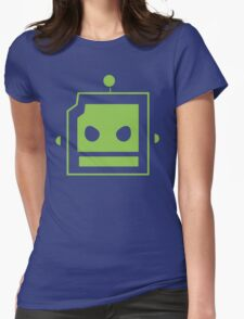 Team Robot Womens Fitted T-Shirt