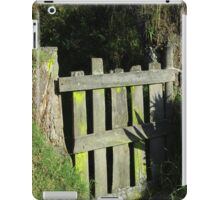 Faded Yellow Gate iPad Case/Skin