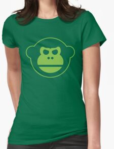 Team Monkey Womens Fitted T-Shirt