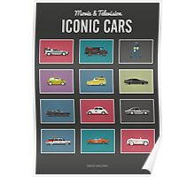 Iconic Cars - Collection Poster