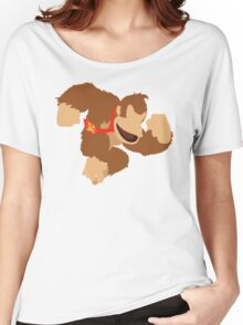 Donkey Kong - Super Smash Bros. Women's Relaxed Fit T-Shirt