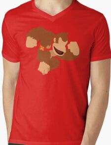 Donkey Kong - Super Smash Bros. Mens V-Neck T-Shirt