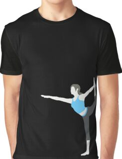 Wii Fit Trainer ♀ - Super Smash Bros. Graphic T-Shirt