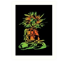 Digital Yogi - 5 (2008) Art Print