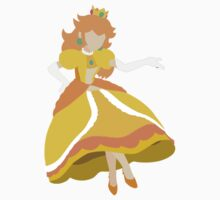 Peach (Daisy) - Super Smash Bros. Kids Tee
