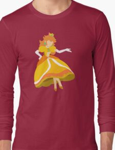 Peach (Daisy) - Super Smash Bros. Long Sleeve T-Shirt