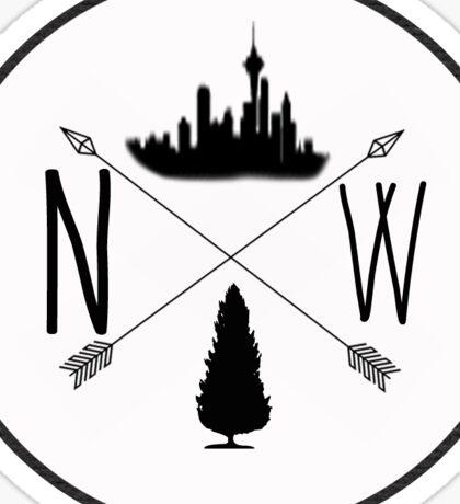 Northwest is Best- Seattle version Sticker