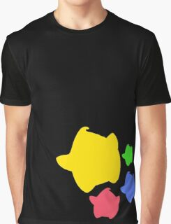 Lumas (Yellow, Red, Blue, Green) Graphic T-Shirt