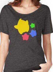 Lumas (Yellow, Red, Blue, Green) Women's Relaxed Fit T-Shirt