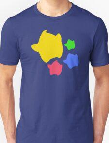 Lumas (Yellow, Red, Blue, Green) T-Shirt