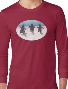 Baby Penguin Trio Long Sleeve T-Shirt