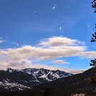 Rocky Mountain Evening View by Bo Insogna