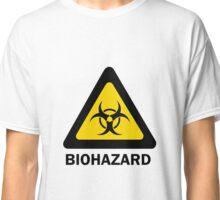 Biohazard beware Classic T-Shirt