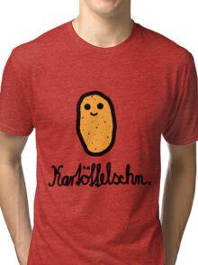 Kartöffelschn Tri-blend T-Shirt