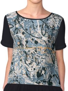 Is There Anybody Home ? The Stone Roses  Chiffon Top
