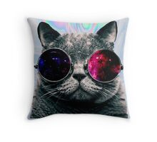 TUMBLR CAT Throw Pillow