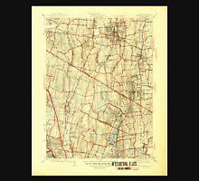USGS TOPO Map New Jersey NJ Park Ridge 255060 1945 31680 Unisex T-Shirt