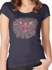 Paisley Lion Women's Fitted Scoop T-Shirt