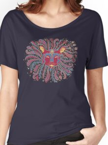 Paisley Lion Women's Relaxed Fit T-Shirt