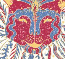Paisley Lion Sticker