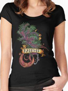 Kale 'N It Women's Fitted Scoop T-Shirt