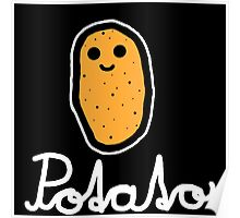 Potato (White) Poster
