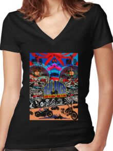Th121 Women's Fitted V-Neck T-Shirt