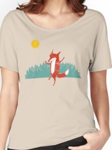Fox dance  Women's Relaxed Fit T-Shirt