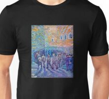 'Prisoners Walking The Round' by Vincent Van Gogh (Reproduction) Unisex T-Shirt