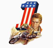 STEVE MCQUEEN MOTORCYCLE ON ANY SUNDAY Unisex T-Shirt