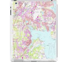 USGS TOPO Map Rhode Island RI East Greenwich 353283 1957 24000 iPad Case/Skin