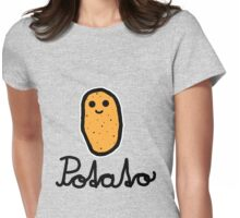 Potato Womens Fitted T-Shirt