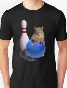 Bowling Squirrel Unisex T-Shirt