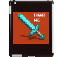 Fight Me 'Gamer tshirt' iPad Case/Skin