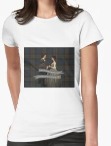 Outlander/Jamie & Claire Fraser Wedding Vow Womens Fitted T-Shirt