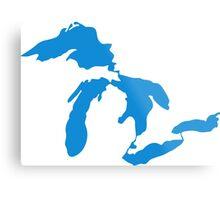 Great Lakes Metal Print