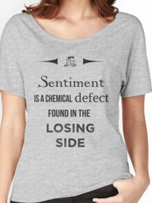 Sherlock Holmes sentiment quote [black and white] Women's Relaxed Fit T-Shirt