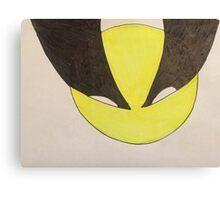 Kawaii Wolverine Canvas Print