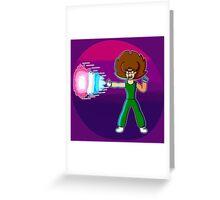 Neko Master Blaster Greeting Card