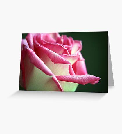 Shimmering Elegance Greeting Card
