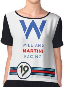 Martini Racing Chiffon Top