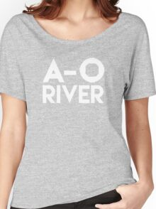 A-O River! Women's Relaxed Fit T-Shirt