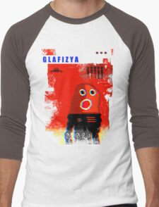 "glafizya ""time is up"" Men's Baseball ¾ T-Shirt"