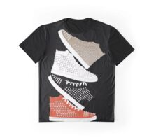 Louboutin mens sneakers in colors Graphic T-Shirt